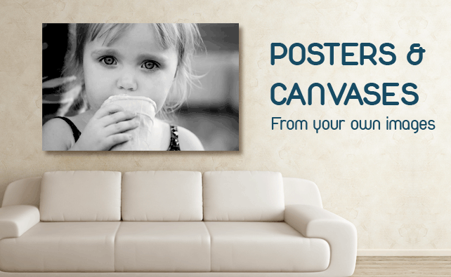 Posters and Canvases Bromsgrove, Foto factory