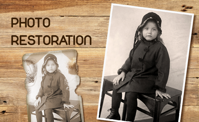 Photo Restoration in Bromsgrove